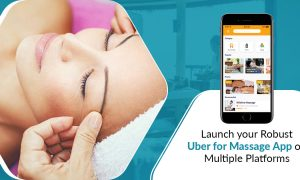 Uber for massage app