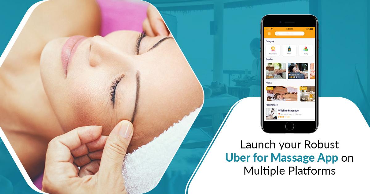 Uber for massage app