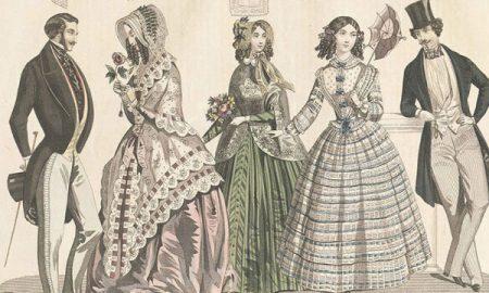 1800s fashion