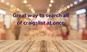 search all craigslist