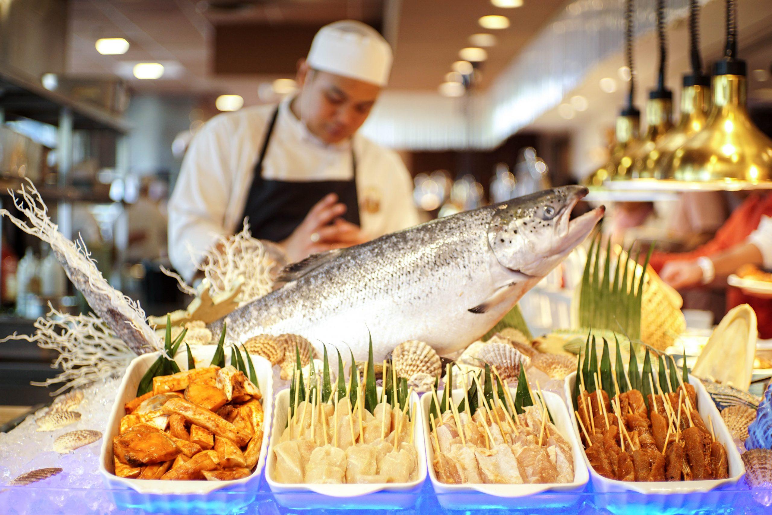 alternatives to fish food