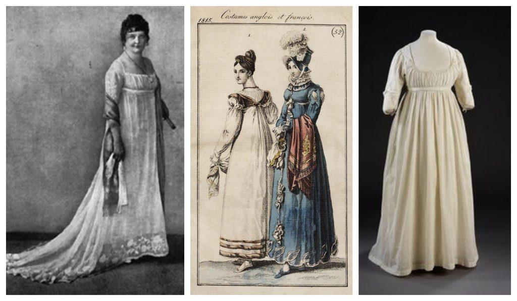 1800s Women Fashion