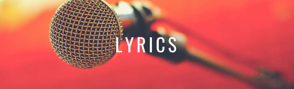 how to quote song lyrics